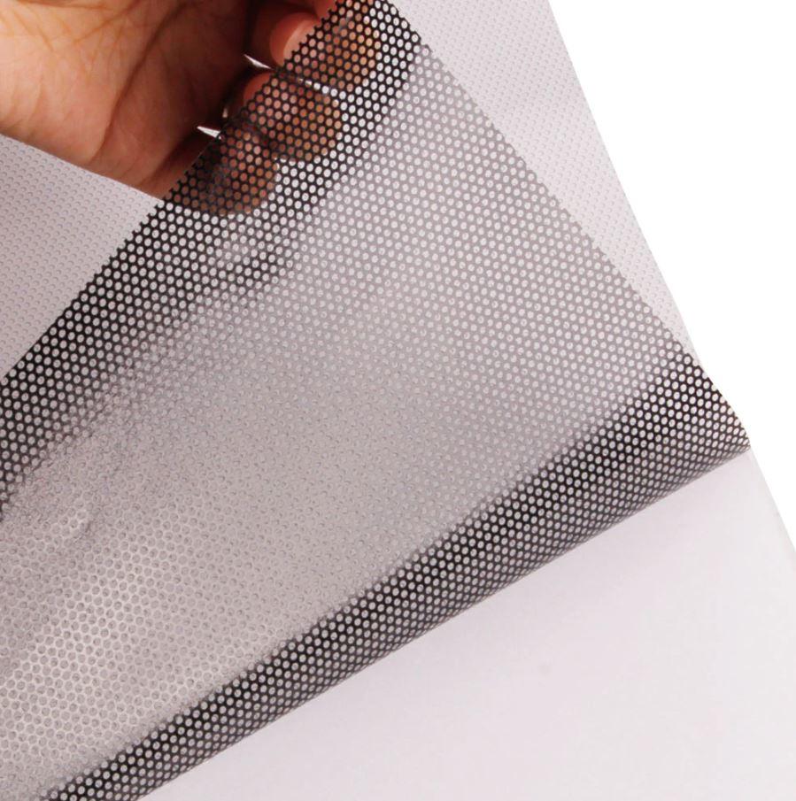 adesivo de vinil perfurado - orcamento elo total